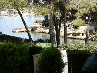 Planta baja con jardín junto al mar