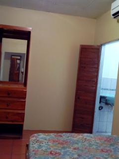 angle view of bedroom