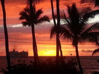 $75 NIGHT SALE!! Ocean Front Downtown!, Kailua-Kona
