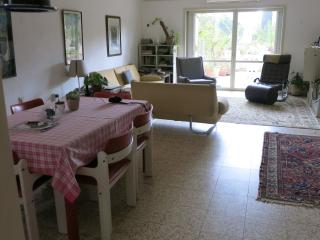 Spacious, 3 bedroom huge balcony, view of greenery, Herzliya