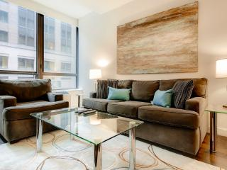 Lux Financial District 1BR w/rooftop, WiFi, New York City