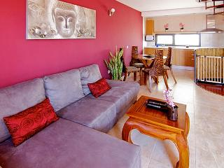 Designer apartment In the Canary Islands with terrace and view of the sea, El Cotillo