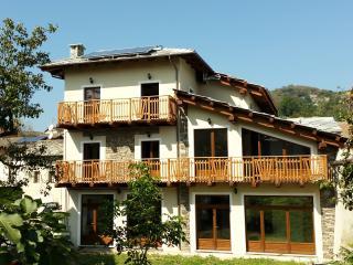 La casa vacanze: vista dall'esterno