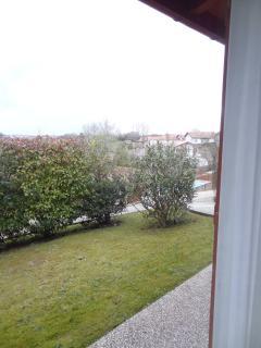 vue jardin chambre verte