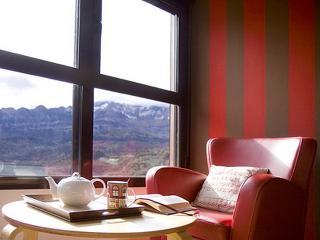 Acogedor apartamento con vistas a la montaña.
