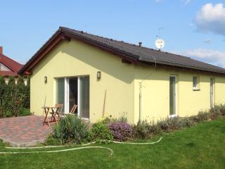 Modern bungalow in Bustehrad, Czech Republic, with terrace and garden, Lidice