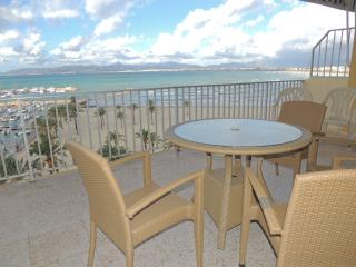 Beach apartment El Arenal x 7 people