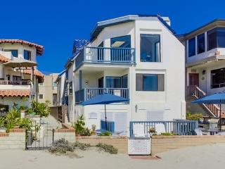 South Mission Beach Ocean Front Luxury Home, San Diego