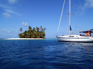 Vela San Blas a bordo de Cinco, El Porvenir