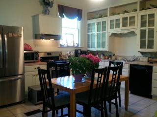 Large country kitchen with all new appliances offers everything needed to prepare a gourmet meal
