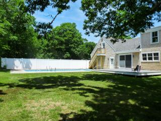 ROSSW - Chilmark Newly Remodeled Cape, Private Pool - 18 x 40,  Set on a Private Half Acre Bordered By Decades old Oak Trees. 10 Minute Drive to Lucy Vincent Beach and Menemsha Area
