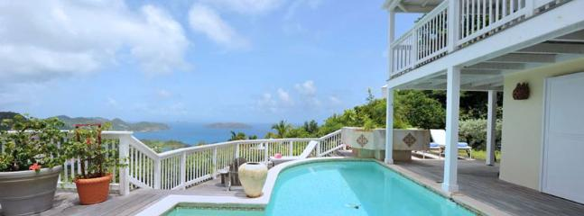 Villa Vagabond SPECIAL OFFER: St. Barths Villa 90 Extremely Private, You Will Enjoy Its Long Pool With The Fountain., Anse de Lorient