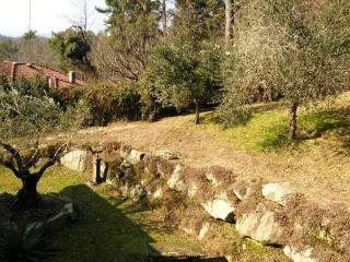 Vergiate hillside villa with garden