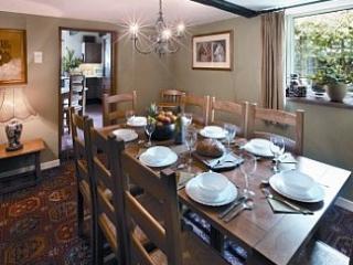 Spacious dining area next to the kitchen