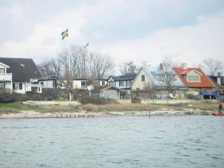 on the sea-shore at Oresund