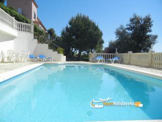 Villa Bona with private pool, seaview, 8 persons, Calonge
