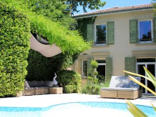 Beautiful gest house in a park with heated pool, Romans-sur-Isere