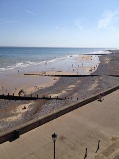 The beach goes on for miles, try a walk to Overstrand if you feel fit.