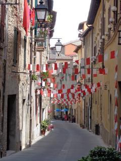 Festival time in Sarteano