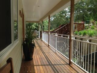 Secured Covered Deck