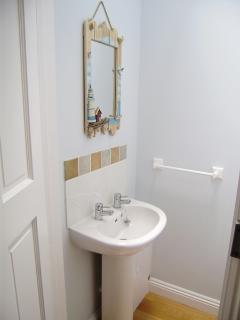 Downstairs cloakroom and WC