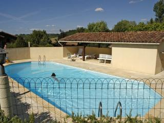 Air Conditioned 3 Bedroom Cabin with pool, Duras