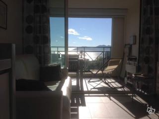Appartement F2 Cannes vue mer, piscine , parking