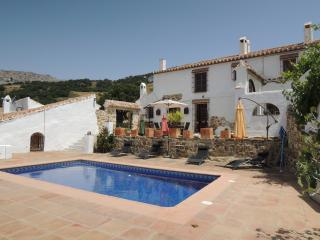 Traditional rustic farmhouse in rural Andalucia, Villanueva de la Concepcion