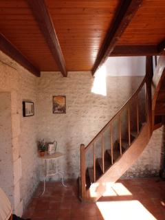 The Hallway and Stairs