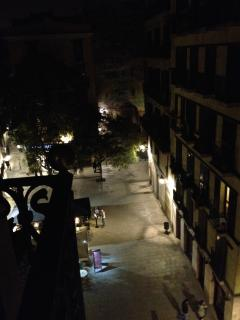 View towards Plaça de les Olles