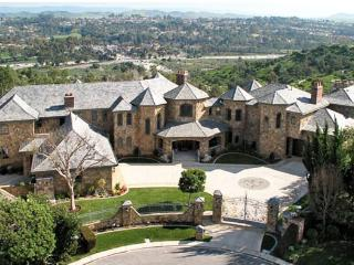 Laguna Hills Castle 11,000 sqft/1.5acres mountain views. 7 bedroom/10bath