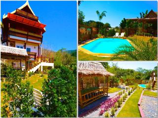 Villa Sukhothai at Golden Pool Villas - Sea Views - 5 mins walk to Kantiang Bay!