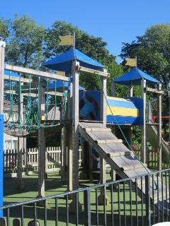 AMAZING PLAY AREAS -  WITH CLIMBING FRAMES,    ZIP WIRE,   BASKETBALL,  SLIDES ETC