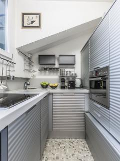 small but super functional kitchen
