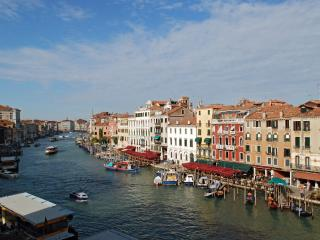 view from living room on the Grand Canal