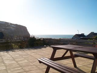 You really feel like you are on the beach when you relax on the terrace or dine Alfresco