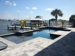 Bay Front Home with Pool, Private Boat Dock