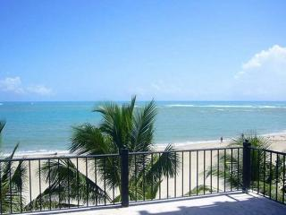 Beachfront, 3 Bd ,Center of town. As close to the Beach as you can get.