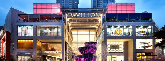 Pavilion KL, another popular mall with great eateries joint.