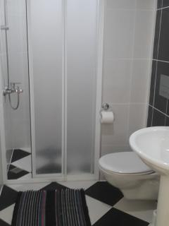 STANDARD 2 BEDROOM APARTMENT' S SHOWER ROOM 1