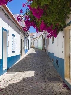A typical street in the village of Ferragudo.