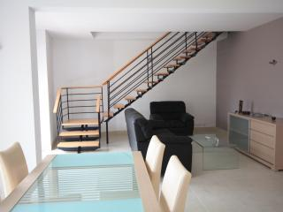 The open plan Living Area with terrace