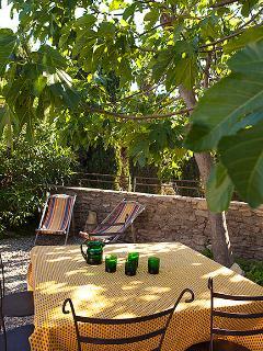 Private garden (maison du figuier)