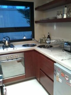 Modern and functional kitchenette