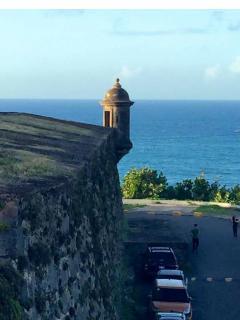 Visit garita del Morro! Old SAn Juan
