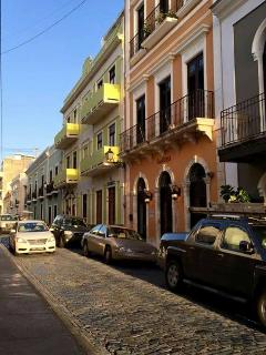 Visit Old San Juan. Spanish construction. Colorful city!