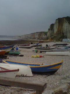 les bateaux des pêcheurs