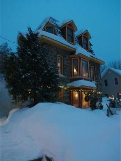 Stay warm and cozy when the blanket of snow covers the house.