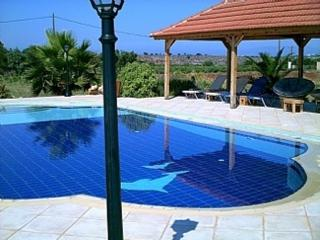 Villa Celeste big private pool and sea view,WIFI, Stavros