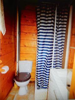 toilettes : lavabo douche wc